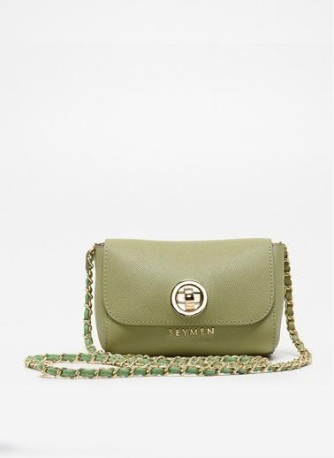 Beymen Messenger / Askılı Çanta Yeşil